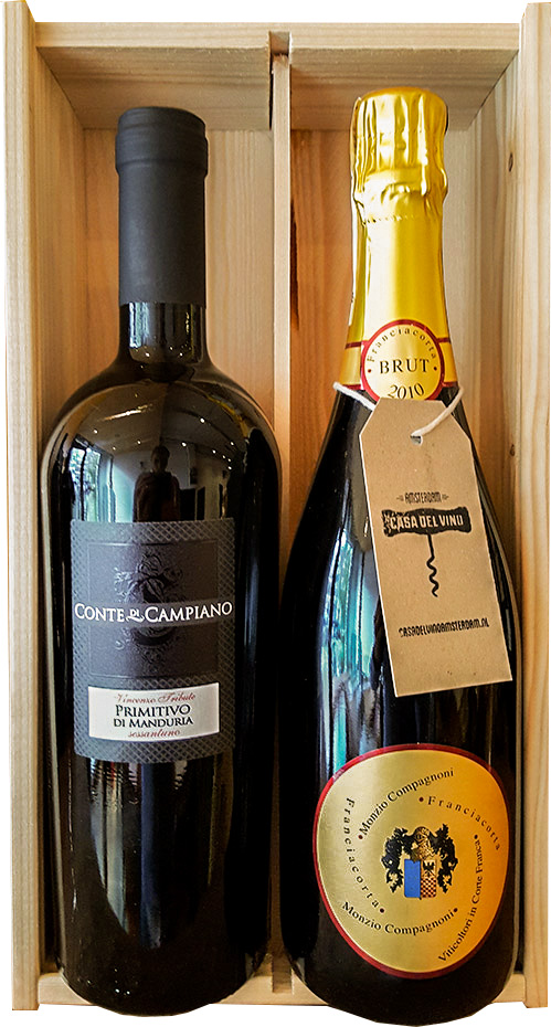 Kerstpakket en wijncadeaus