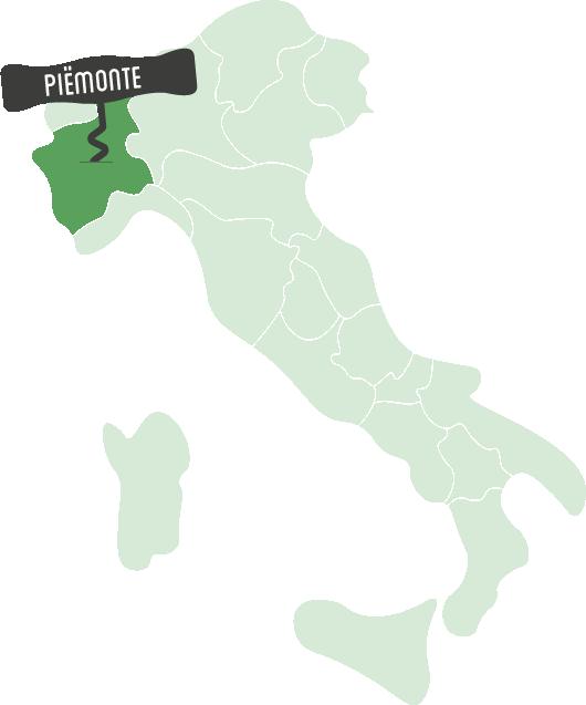 wijnen uit Piëmonte