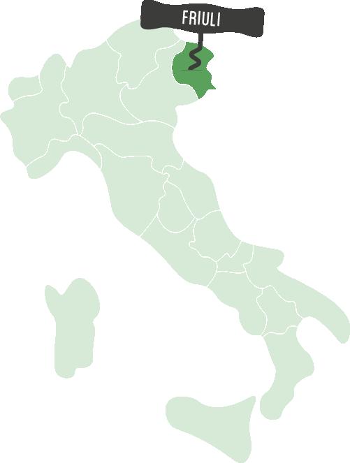 Wijnen uit Friuli bestel je bij Casa del Vino Amsterdam