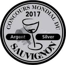 Ronchi San Giuseppe Sauvignon Silver medal concours mondial du sauvignon
