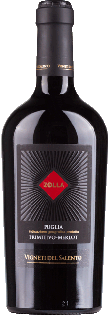 Bestel Zolla Primitivo / Merlot Vigneti del Salento bij Casa del Vino