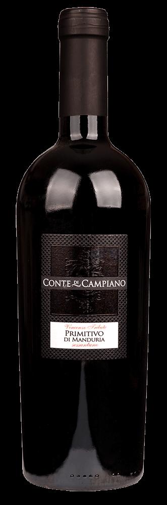Bestel Conte di Campiano Primitivo di Manduria bij Casa del Vino