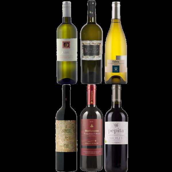 Bestel Proefpakket gemengde wijnen bij Casa del Vino
