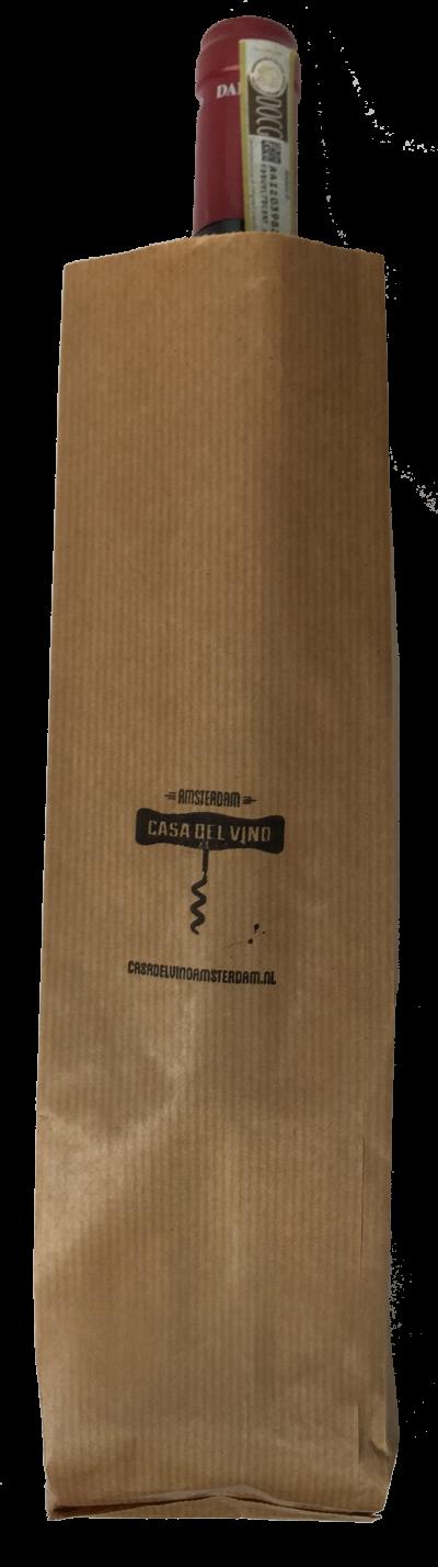 Bestel Papieren wijnzak bij Casa del Vino