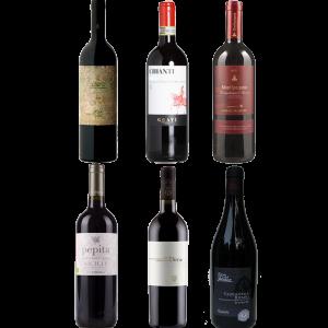 Proefpakket rode wijnen