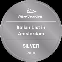 Wini-searcher Silver retailer award Casa del Vino Amsterdam