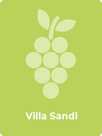 Villa Sandi druif